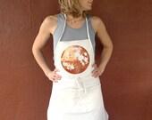 Kitchen Apron, Moon Apron, Baking Apron, Copper Gift, Space Kitchen Apron, barista apron, housewarming gift, apron for baking, gift for her