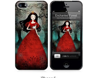 Phone Case - Enchanted Forest - iPhone 5 - iPhone 6 - Samsung Galaxy