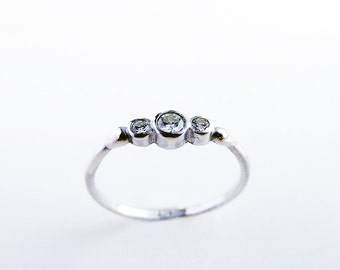 Three Gem Engagement Ring_ BTWN You and Me