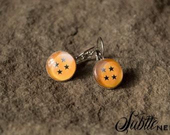 4 Star Ball Earrings
