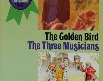 Vintage Childrens Book McCall's Storytime Treasury:  Golden Bird / The Three Musicians 1969 Fratelli Fabbri Editori Italy CrabbyCats