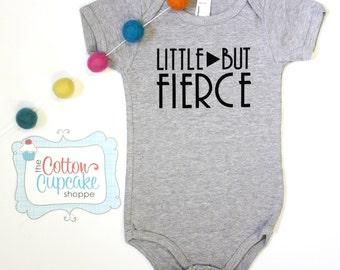 Little But Fierce - American Apparel Onesie