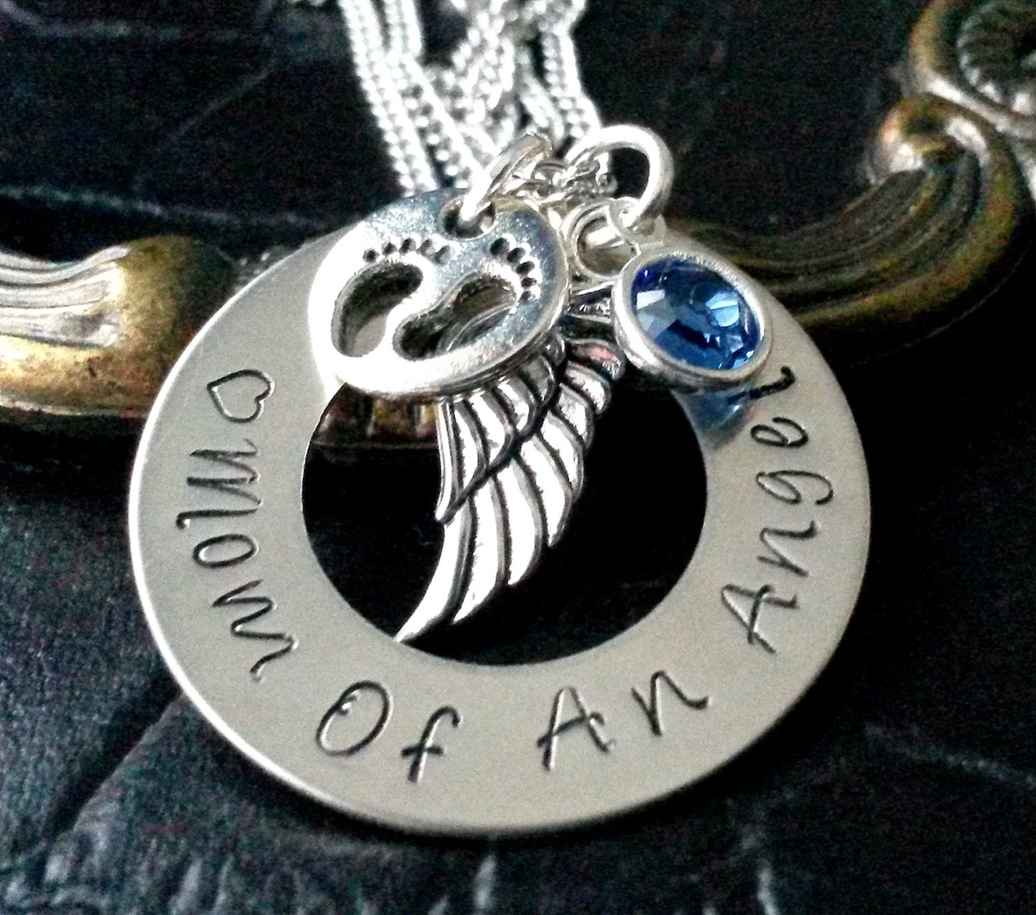 Baby loss ornaments - Mom Of An Angel Necklace Infant Loss Miscarry Keepsake Baby Loss Miscarry