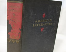 American Literature College Anthology, Beginning to 1860, Vol. 1, Scribners Sons, 1948