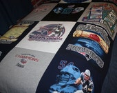 New  England  Patriots T-shirt Quilt, Blanket,Throw