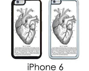 iPhone 6 6s iPhone 6 PLUS Case Vintage Medical Chart anatomical Heart Anatomy  Trim Choice