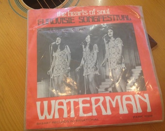 Rare Vintage Vinyl 45 Record Eurovision 1970 The Heart of Soul Single Made In Netherlands 45 Waterman