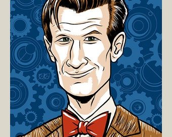 11th Doctor - Doctor Who print