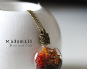 AUTUMN Real Moss Necklace