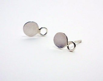 Sterling Silver Post Earrings, Silver Post Stud Earrings