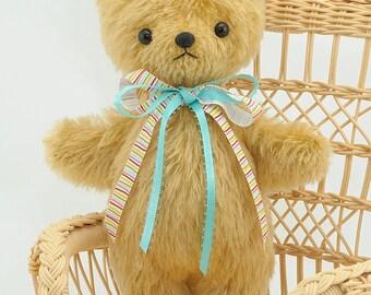 Mohair Stuffed Teddy Bear pdf Sewing Pattern – Easy Teddy– Bingle Bears by Cheryl Hutchinson – instant download
