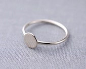 Cosmo Ring | 14K White Gold Ring | Gift for Her | Made to Order in 3-5 days