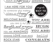 Altenew Sentiments and Quotes stamp set
