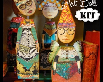 Advanced Doll Kit -for THE IMAGINARIUM - Anthology of an Art Doll Class