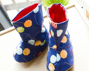 no 717 Connor Baby Boots PDF Pattern