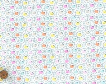 Liberty Tana Lawn Fabric - Liberty Japan Limited, Hello Kitty Wall Flower, Liberty Print Cotton Scrap, Kawaii Quilting, Sanrio, ntkitty17f