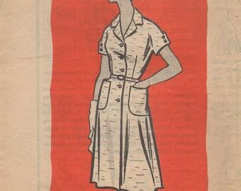 Workbasket Mail Order Pattern 4989 Dress