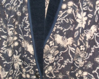 NEW IDENTITY VICTORIAN floral tapestry jacket