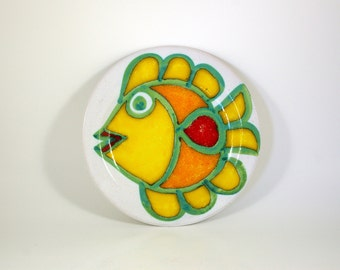 Desimone Fish Plate - Made in Italy