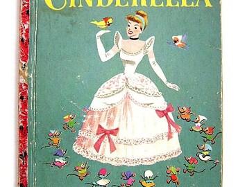 "Little Golden Book First Addition ""Walt Disney's Cinderella"" #D59"