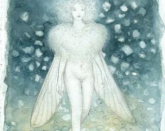 Original 'Moth Fairy' Painting