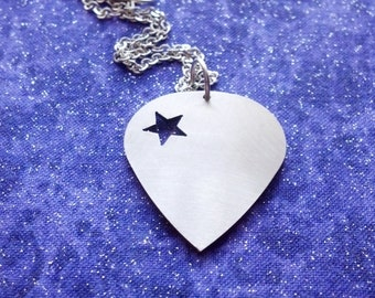 Discontinued- Guitar Pick - Necklace Pendant or Keychain