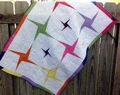 Baby Toddler Quilt Spinning Stars