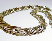 Classic Chic Quality Silver-tone 19 inch Vintage 80's Choker Necklace