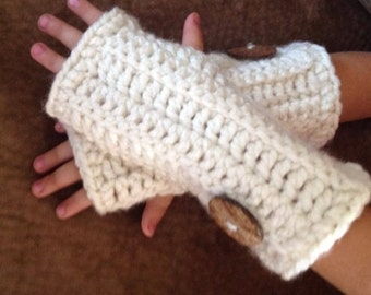 Women's fingerless gloves hand warmers