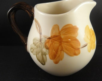 Franciscan October Pattern Creamer or Small Pitcher