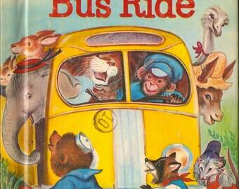 The Animals' Bus Ride Junior Elf Book 8118 Helen Wing Irma Wilde