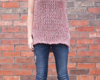 Spring Knits - The Billow Tank - A Knitting Pattern