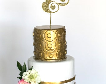 SALE! Ampersand Acrylic Cake Topper (Style 4)