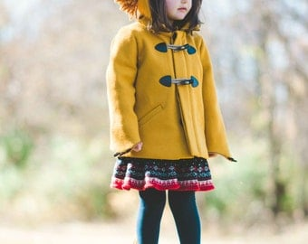 Girls Lion Coat