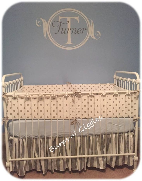 Etsy Boy Crib Bedding