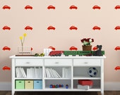 Vintage Car Wall Decals | Kids Wall Art | (Set of 20)