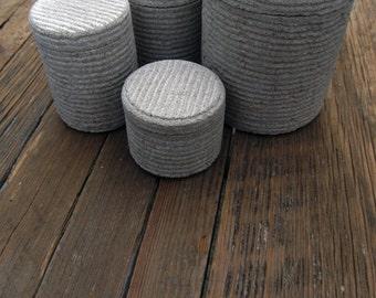 Stone Jar Set - Alabama Limestone