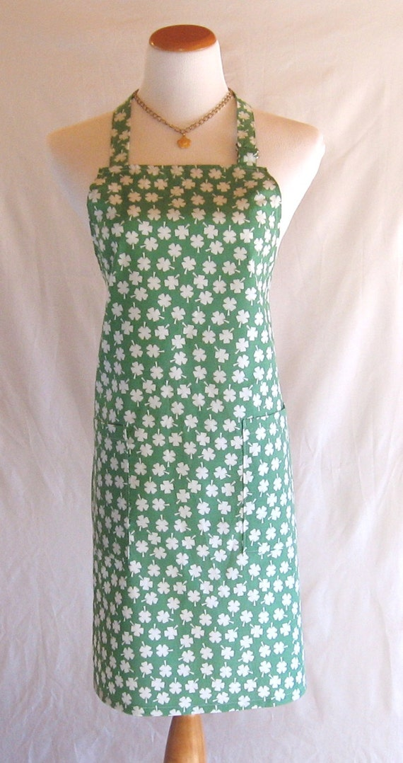 St. Patrick's Day Women's Apron