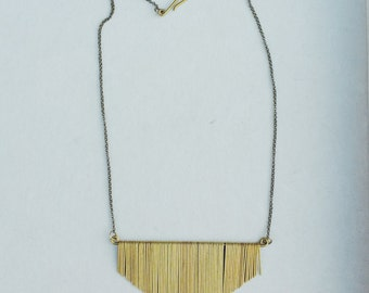 Small Jules Fringe Necklace
