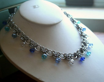 Elegant Euro Chainmaille Necklace