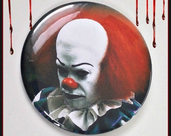 """Pennywise - Large 2 1/4"""" Button"""