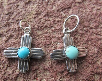 Custom nuevo mexico zia medicine bag sold for Turquoise jewelry taos new mexico