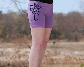 little seedling Yoga Shorts, Running Shorts, Pilates Shorts, S,M,L