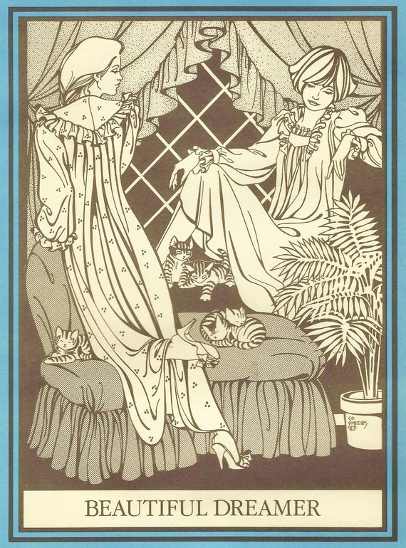 OOP Folkwear Sewing Pattern 224 Beautiful Dreamer Womens NIghtgown Size 6 8 10 12 14 16 18 20 Bust 30 1/2 to 42 UnCut 1900s Nightgowns