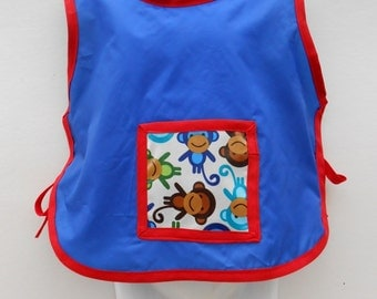 Kids/Toddler Painting Apron......Handmade in Ireland