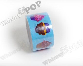 """1 - Color Roll Designer Cupcake Dessert Tape, Deco Tape , Crafts DIY Decoration, 2"""" x 20 Yardst (C1-23)"""