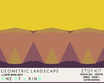 Geometric Landscape - ETSY KIT