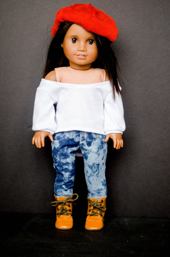 The Amelia Sweater for American Girl and other 18 inch dolls