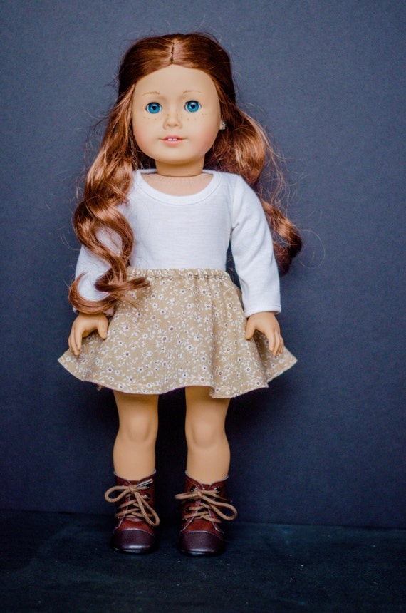 The Anna Sweater for American Girl and other 18 inch dolls