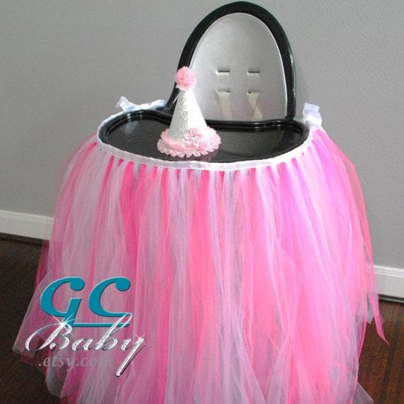 Custom Floor Length High Chair Tutu Any Colors including